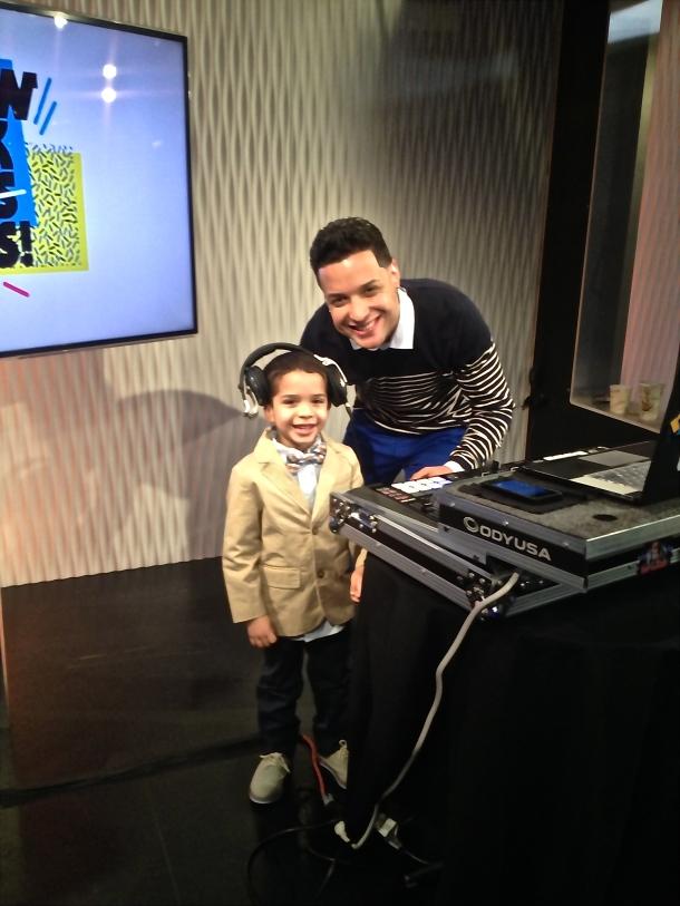 Jayden Perez with DJJumpinJay