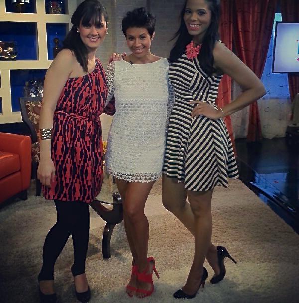 Natalia Ortiz, Kyrzyda Rodriguez, and Victoria Sosa