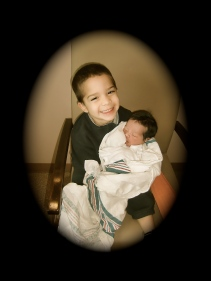 A Big Brother (Baby Brother Josiah Ayden Perez)