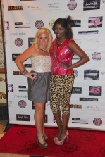 Bridget O'Brien and Designer Jazmine Brown