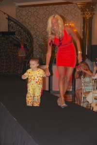 Jackie Bianchi (StyleNetwork Jerseylicious) with her beautiful daughter Adrianna Bianchi