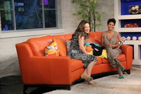 Kyrzyda Rodriguez On Set (Telemundo Buenos Dias NY)