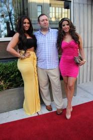 Tracy DiMarco (Jerseylicious Style Network) Thmas F. La Vecchia, MBA, Elizabeth Ann (VH1 Tough Love)