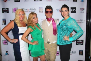 A Mommiez Fashion Diary (Yessenia Ramos) with EricAndrew (NYC Socialite), Bridget O'Brien (PR) and Leanne Pinard