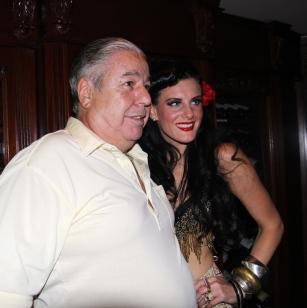 Clem Caserta with Justina Valentine