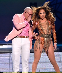 Pit Bull and Jennifer Lopez